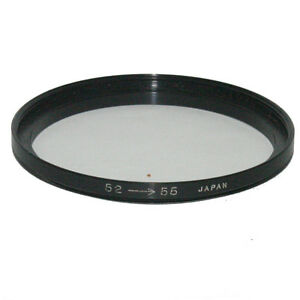 52-55mm Lens Filter Adapter Ring Step-Up Made in Japan 6204056