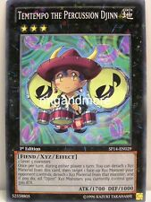 YU-GI-OH - 1x Temtempo the Percussion Djinn-sp14-STARFOIL-STAR PACK 2014