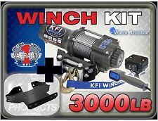 3000 lb KFI Winch / Mount Combo Kawasaki Brute Force 650 750 2005-2017