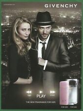GIVENCHY PLAY The new fragrance for her/for him - 2011 Print Advertising