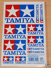 Tamiya 67125 Tamiya Logo Sticker Set, NIP