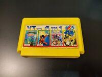 4 in 1 Game Cartridge Dendy NES Famiclone TMNT, Kick Master 8-bit games