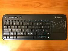 Logitech Wireless Touch Keyboard K400R With Built-In Touchpad Works On PS4