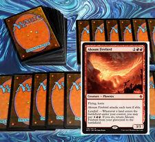 mtg RED HASTE DECK Magic the Gathering rare cards akoum firebird