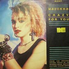 "Madonna(7"" Vinyl P/S)Crazy For You-Geffen-A 6323-UK-VG+/Ex"