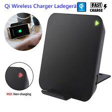 Qi Wireless Charger Schnell Induktive Ladestation Ladegerät phone Handy kabellos