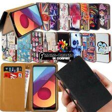 Para LG Optimus L 1234579 F 3567 Cuero Elegante Soporte Funda
