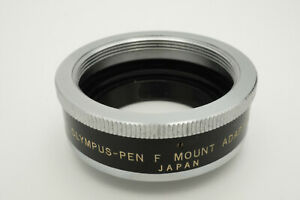 [RARE] OLYMPUS PEN F Mount Adapter P M42  to PEN F from JAPAN #B002