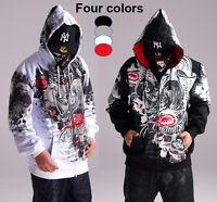 4F23 Hip Hop Ecko Unltd Hoodie Coat Cotton Rhino Graffiti Sweater Sweatshirt
