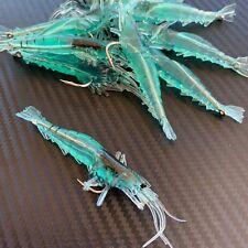 10x Soft Plastic Fishing Lures Tackle Prawn Shrimp Flathead Bream Cod Bass Lure