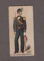 1888 Kinney Tobacco Military Series N224 OFFICER SLOCUM LT. GUARDS PROV. R.I.