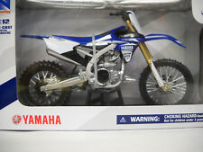 Yamaha YZ450F 2017 1/12 Motorcycle Model Dirt Bike Toy  by New Ray 57983