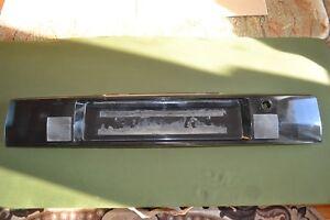 Audi 80 90 B3 Rear Light Center Number Plate HELLA BLACK TRESER !! VERY RARE !!