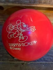 New listing Brunswick 8 lbs Team Mickey Mouse Bowling Ball New In Box Don't Buy Used