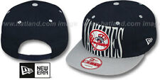 Yankees 'STEP-ABOVE SNAPBACK' Navy-Grey Hats by New Era