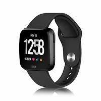For Fitbit Versa Lite Edition Watch Bands Soft Silicone Replacement Wrist Strap