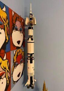 Lego Saturn V 21309 Wallmount