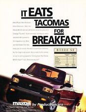 1996 Mazda B3000 Truck - Original Advertisement Print Art Car Ad J664