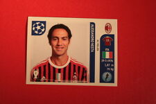 PANINI CHAMPIONS LEAGUE 2011/12 N 500 NESTA MILAN WITH BLACK BACK MINT!!