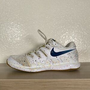 Nike Court Air Zoom Vapor X HC Womens Shoes Size 10 White Speckled AA8027-109