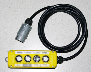 4 Button Control to suit Tieman AHT hydraulic Tailgate Tail lift. Express Post