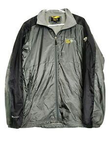 Mountain Hardwear Conduit Full Zip Windbreaker Jacket Camping Sz M