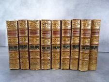 Dictionnaire historique 9/9 vol biographie histoire Lafon de Beaulieu Correze