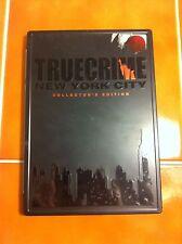True Crime New York City Collector's Edition game XBOX w/ book, bonus DVD disc