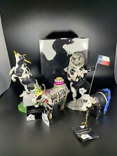 Cow Parade Figurines Lot Of 4, Original Boxes & Tags!