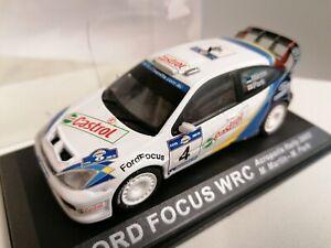 Deagostini 1/43  WRC 2003 Ford focus WRC rally car Acropolis rally