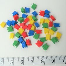 Monopoly Junior Disney Channel Board Game 52 Plastic Television Pieces Parts