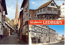 Herefordshire: Historic Ledbury, Multiview - Posted 1998
