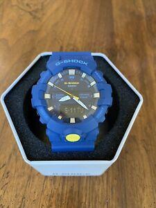 CASIO G-SHOCK GA-800SC-2A BLUE ANALOG/DIGITAL WATCH DISCONTINUED MODEL