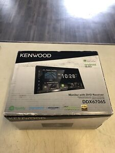"""Kenwood DDX6706S 6.8"""" Touch Screen, 2-DIN, CD/DVD, Android Auto, Apple CarPlay"""