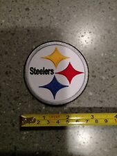 """Pittsburgh Steelers embroidered, 3"""" by 3""""  iron on patch, NFL, football"""