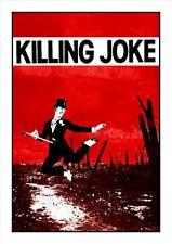 KILLING JOKE - A3 ART POSTER - WARDANCE - PSYCHE - GOTH - PUNK - JAZ COLEMAN