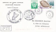 Taaf - antarctic  cover  from Kerguelen  (Midwinter 1996)
