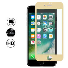 Screen Protection Film Tempered Glass Edge Curved YELLOW Apple iPhone 7 Plus 5.5