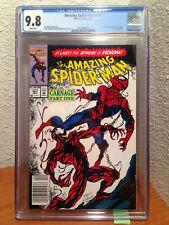 Amazing Spider-Man #361 9.8 CGC Newsstand 1st Carnage Cletus Kasady 1992 Marvel