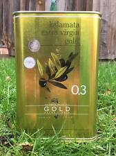 Kalamata Oro Extra Vergine olio d'oliva latta 3 litro (Freddo-pressato)