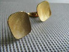 Klassische Manschettenknöpfe, 18 Karat Gold