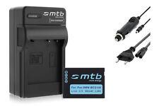 Batterie DMW-BCG10E + Chargeur pour Panasonic Lumix DMC-TZ19, TZ20, TZ22