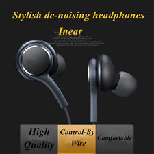 New Galaxy Samsung S8 S8+ S7 S6 Edge 6 5 3.5mm Control Stereo Earphone With MIC