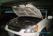 02-06 Honda CR-V CRV SUV Engine Hood Gas Lift Shock Black Strut Shock Damper Kit