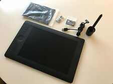 Wacom PTH651 Intuos Pro Pen and Touch Tablet - Black