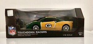 Officially Licensed NFL Green Bay Packers Touchdown RC Racer Car.  New, Unopened