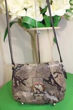 Coach Soho Leather Exotic Python Flap Swingpack Crossbody  Style 4564 (P900