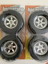 HPI Racing PITCH FORKS Tire On Spike Monster Wheels (4) Savage X/T-Maxx/E-maxx