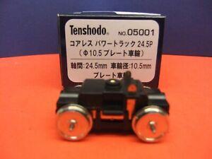 Tenshodo coreless motor-bogie for 00/H0 trackwork