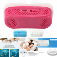 Micro CPAP Anti Snoring Device for Sleep Apnea Stop Snore Aid Stopper TOP